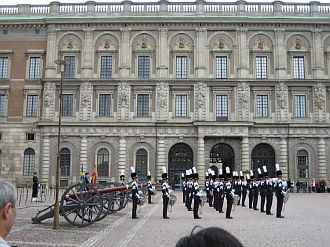 Gardesoldaten