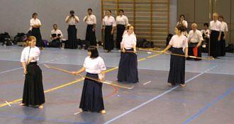 Naginata Kampfsport: Einzelwettkampf