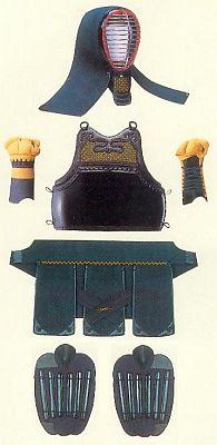 Naginata Schutzausrüstung (Bôgu)