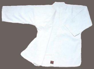 Keiko Gi - verwendete Jacke beim Naginata Kampfsport